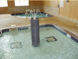 Wading Pool with Fountain